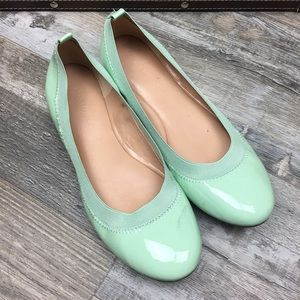 Banana Republic Mint Ballet Flat Women Size 8.5